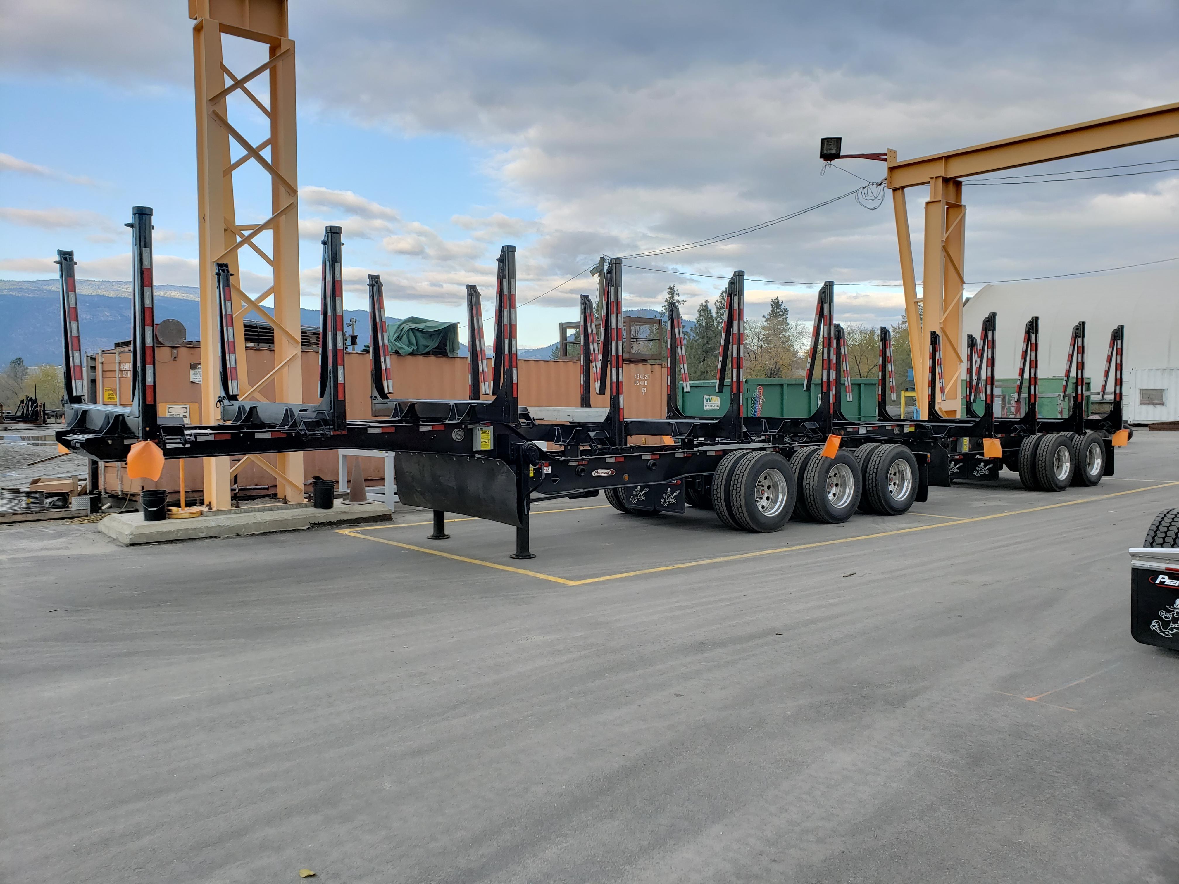 Alberta Wide Super B-Train Shortwood Images