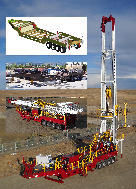 Mast Drilling Images